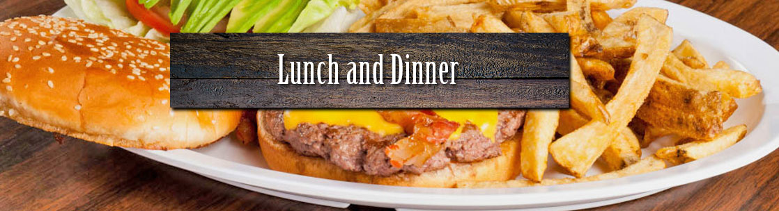 lunch dinner banner